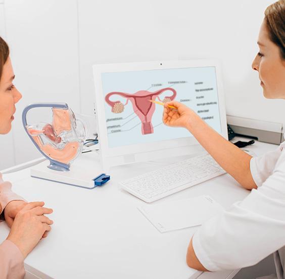 Kobieta uginekologa
